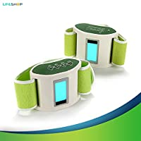 LifeShop Infrared EMR Vibration Muscle Flex Technology Toning and Slimming Belt Kit - Relaxing Butt Toning and Firming Therapy for Women and Men - Works for Abdominal Muscles, Waist, Arms and Legs by LifeShop USA