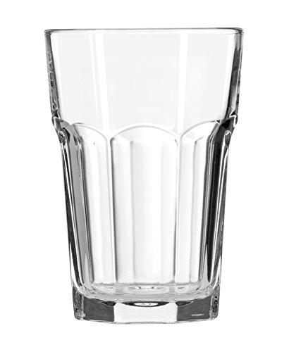 Gibraltar Cases (Gibraltar Original Beverage Glasses 14.1oz / 400ml - Case of 12 | 40cl Hiball Glasses, Juice Glasses, Gibraltar Tumblers - DuraTuff Libbey Glassware)