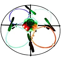 Odyssey Flying Machines Sky Flyer NX 2.4GHz Quadcopter with Fiber Optic Lights