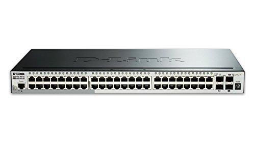 Switch DGS-1510 48 10/100/1000 2-SFP/2-SFP+ L2 Gerenciável, D-Link, Switches de Rede