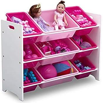 Amazon Com Delta Children Mysize 9 Bin Plastic Toy