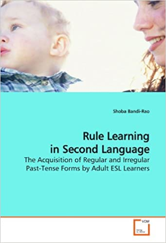 Rule Learning in Second Language: The Acquisition of Regular