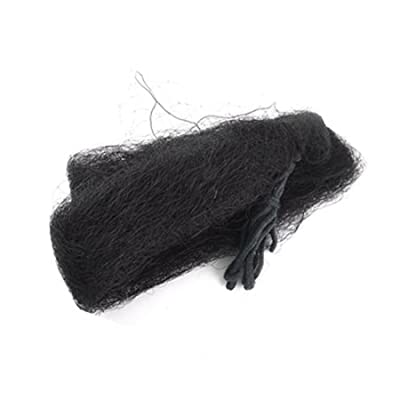 2 Pcs Meshy Bird Netting Blk for Garden 8.4 x 3.3 Meter