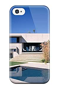 Premium Architecture Houses Heavy Duty Protection Case For Iphone 4/4s
