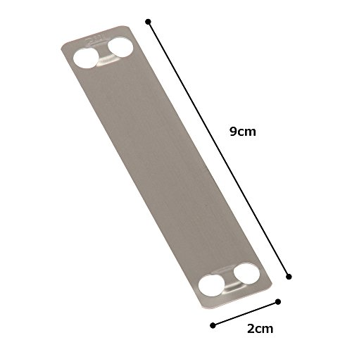 Panduit MMP350-C316 Marker Plate, 316 Stainless Steel, Natural Color (100-Pack) by Panduit (Image #3)