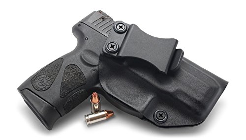 (Concealment Express IWB KYDEX Holster: fits Taurus 111/140 Millennium G2 & G2C - Cstm Fit - US Made - Inside Waistband - Adj. Cant/Retention (BLK, Left))