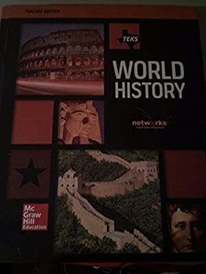 Teks World History Teacher Edition Networks Social Studies Learning System