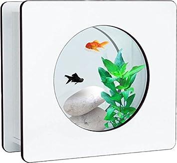 aquatlantis Nano Fashion Vision 1 Acuario sin iluminación, color blanco: Amazon.es: Productos para mascotas