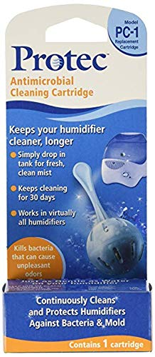 Protec PC-1V1 Continuous Humidifier Cleaning Cartridges – Quantity 6 For Sale