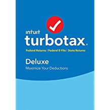 Intuit Turbotax Deluxe + State 2018