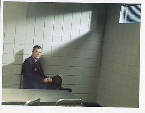 CHRIS NOTH/LAW AND ORDER CRIMINAL INTENT/8X10 COPY PHOTO BB3351