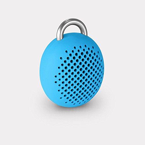 Divoom Bluetune Bean Portable Wireless Bluetooth Speakers with Selfie Remote Shutter  Blue