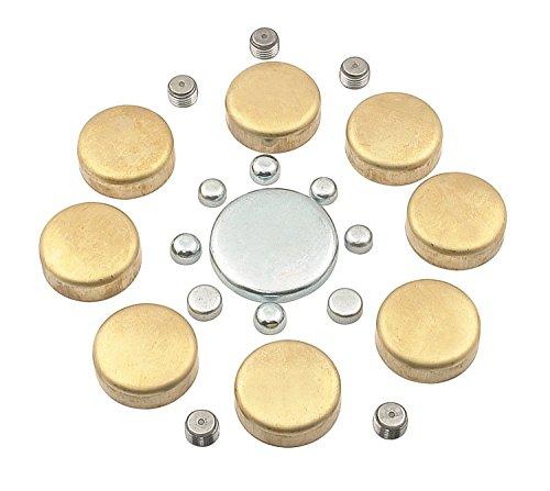 (Mr. Gasket 6481 Brass Freeze Plug Kit)