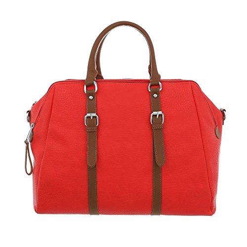 Ital-Design, Cartable pour Femme Rouge