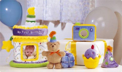 Baby Gund - My First Birthday Gift Set - Cake & Photo Album