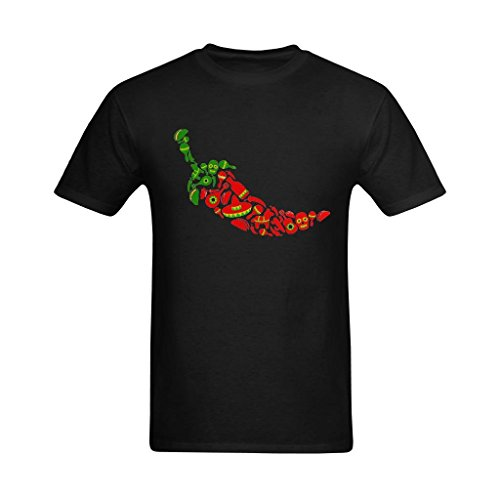 Fashion-In Men's Cinco De Mayo Backgrounds Clipart Design T-Shirt - Emotion T Shirt US Size XL -