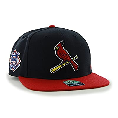 47 Brand St. Louis Cardinals Two-Toned Sure Shot Mens Snapback Hat B-SRSTT23WBP-NY