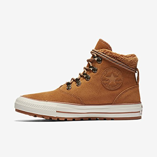 Converse Lined Sneakers - Converse Womens Chuck Taylor All Star Ember Boot Hi Hazel Egret Suede Trainers 7 US