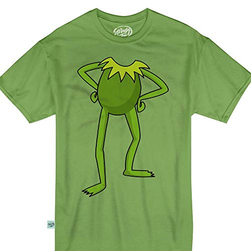 Springtee Green Puppet Frog Halloween Costume Kids & Adult T-Shirt