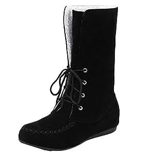 Amazon.com: Winter Sale Women Lace-up Snow Boots Fashion