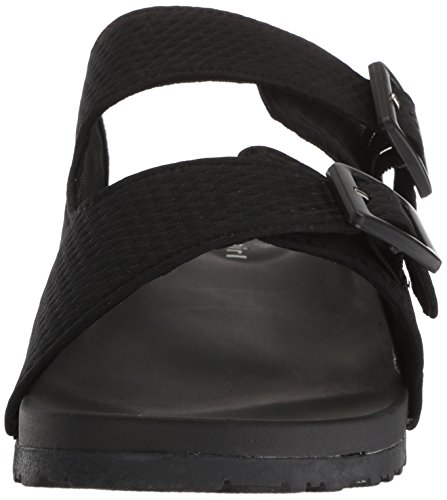 Madden Girl Women's Chase Slide Sandal Black YDOAT