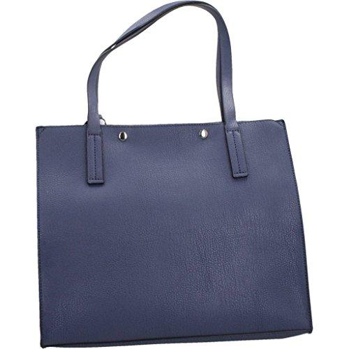 Shoppers y bolsos de hombro para mujer, color Azul , marca GUESS, modelo Shoppers Y Bolsos De Hombro Para Mujer GUESS KINLEY CARRYALL Azul Azul