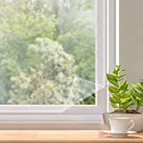 Window Insulation Kit, Indoor Window Plastic for Winterizing 5 Sheets Pre-Sized 3 x