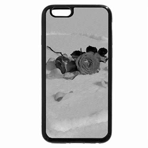 iPhone 6S Plus Case, iPhone 6 Plus Case (Black & White) - Winter Romance