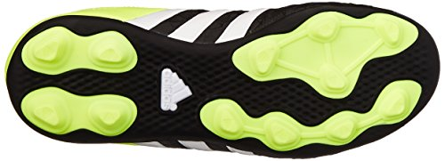 adidas Performance Ace 15.4 FG J Zapatillas de fútbol (poco Kid/Big Kid) Black/White/Solar Yellow