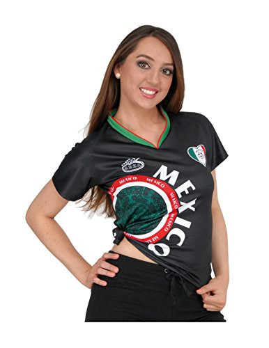 Black Womens Soccer Jersey - Arza Sports Mexico Womens Soccer Jersey Exclusive Desin (Medium, Black)