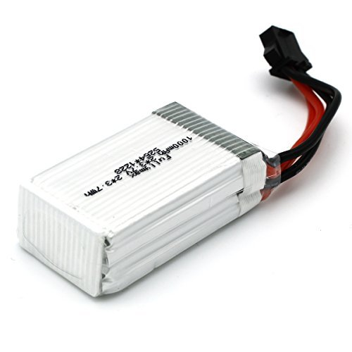 UDI-RC-Original-37Vx2-1000mAh-Li-Po-Battery-with-Battery-Box-for-UDI-U842-RC-Quadcopter-Drone-Spare-Parts