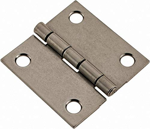 2'' Long x 2'' Wide x 0.062'' Thick, 302/304 Stainless Steel Commercial Hinge pack of 10