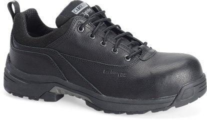 Shoe Carolina Oxfords (Carolina Mens ESD Oxford Boot-Black)