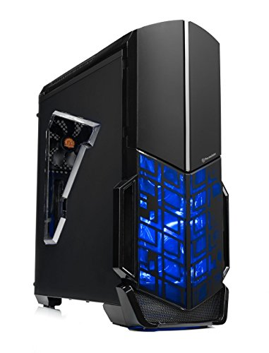 """[Ryzen & GTX 1050 Ti Edition] SkyTech Shadow Gaming Computer Desktop PC Ryzen 1200 3.1GHz Quad-Core, GTX 1050 Ti 4GB, 8GB DDR4 2400, 1TB HDD, 24X DVD, Wi-Fi USB, Windows 10 Home 64-bit"""