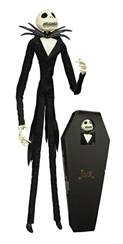 Diamond Select Toys The Nightmare Before Christmas: Unlimited Jack Skellington Coffin Doll Jack Skeleton Nightmare Before Christmas