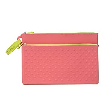 harmonious colors available san francisco CB GO Silicone Wipes Clutch Case, Bright Pink