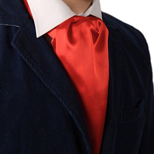 Dan Smith DRA7E01L Mens Red Solid Mens Polyster