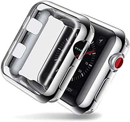 BATOP Apple Watch Screen Protector || Overall Protection Cover case for Apple Watch Series 2/3 TPU Soft Protective Film Screen Protector for Apple Watch ...