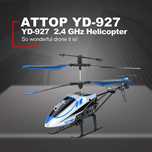 Attop YD-927 2.4 GHz 3.5 Channel Strong Resistance Drone RC Helicopter Quadcopter Defensive Remote Control Aircraft Model Toys❤️