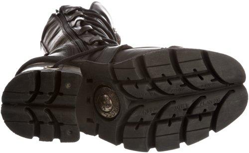 Damen Itali New Black M Plateau 991 S1 für Stiefel von Rock Xxw8zZx