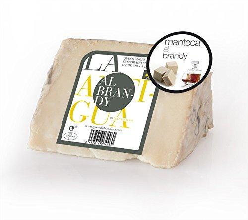 QUESERIA LA ANTIGUA DE FUENTESAUCO - Queso añejo de leche cruda de oveja al brandy (2 x 400gr Aprox.): Amazon.es: Alimentación y bebidas