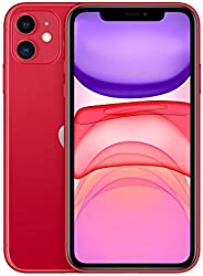 Apple iPhone 11 (128GB, (Product) RED) [Locked] + Carrier Subscription