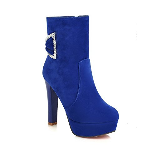 Bleu AdeeSu Sxc01720 Bleu 36 5 Plateforme Femme Wrwq8B1p7w