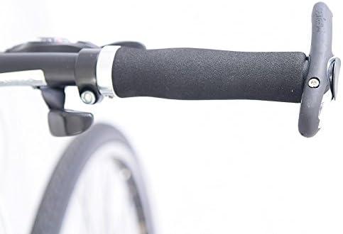 SERFAS PRO Bicycle Grips Grey Bike Mountain Hybrid Flat Bar