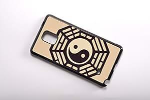 FBA 3 regalo de Navidad - case por Samsung Galaxy Note 4 Tai Chi gossip negro funda