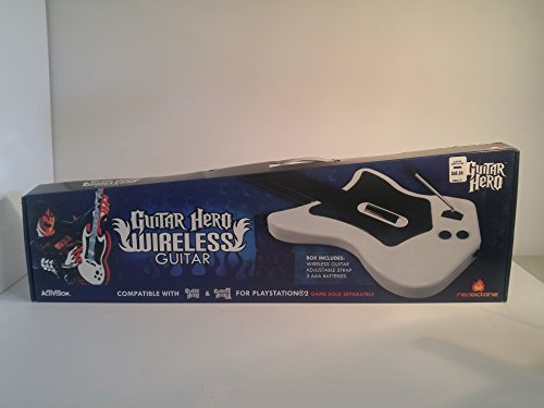 Red Octane Guitar Hero Wireless Guitar for Playstation 2