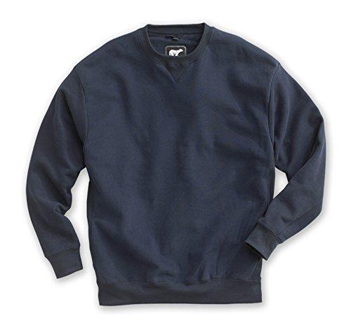 - White Bear Clothing Co. Heavyweight Crew (3XL-Tall, Navy)