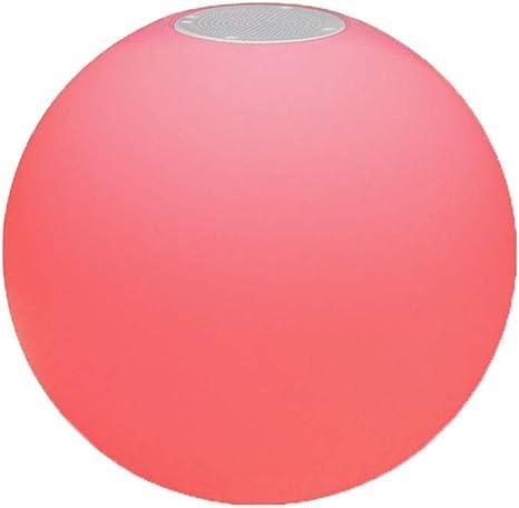 Rainbow neon bright ball 25cm//10in flat w//pump adapter playball pride visual