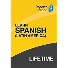 Rosetta Stone: Learn Spanish (Latin America) with Lifetime Access on iOS, Android, PC, and Mac [Activation Code by Mail]