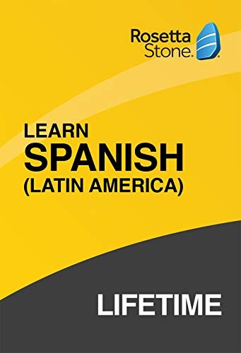 Price comparison product image Rosetta Stone: Learn Spanish (Latin America) with Lifetime Access on iOS,  Android,  PC,  and Mac [Activation Code by Mail]